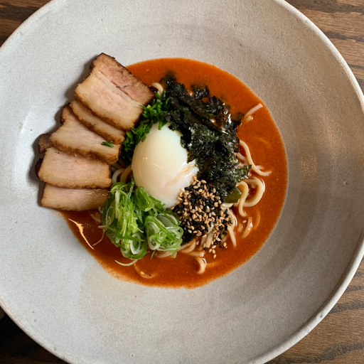 Spicy pork miso ramen