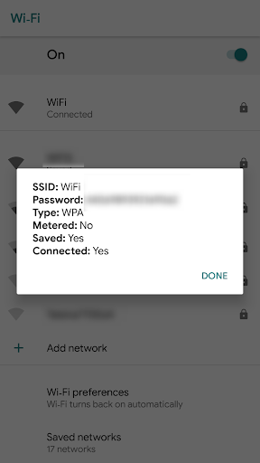 [ROOT] Wifi QR Code Creator & Info (+ xposed) 0.2.0 screenshots 5