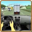 Driving in Truck icon