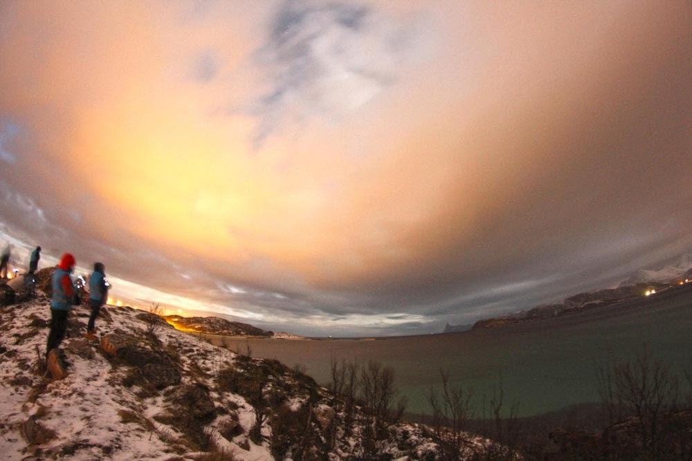 Sim, andamos a CAÇAR AURORAS BOREAIS em Tromso | Noruega