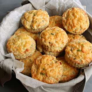 Savoury Cheese & Chive Scones.