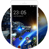 Space Galaxy 3D Theme Cool Live Wallpaper OnePlus