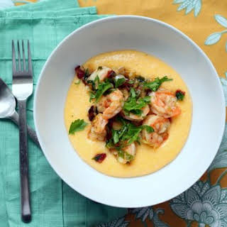 Shrimp And Grits With Vegetables Recipes.