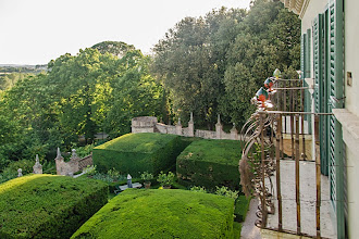 Photo: View of the garden from the apartment