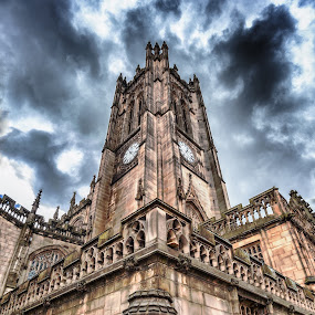 Manchester Cathedral by Dimitri Foucault - Buildings & Architecture Public & Historical ( cathedral, manchester )