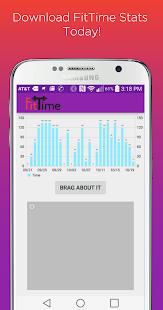 FitTime Stats screenshot