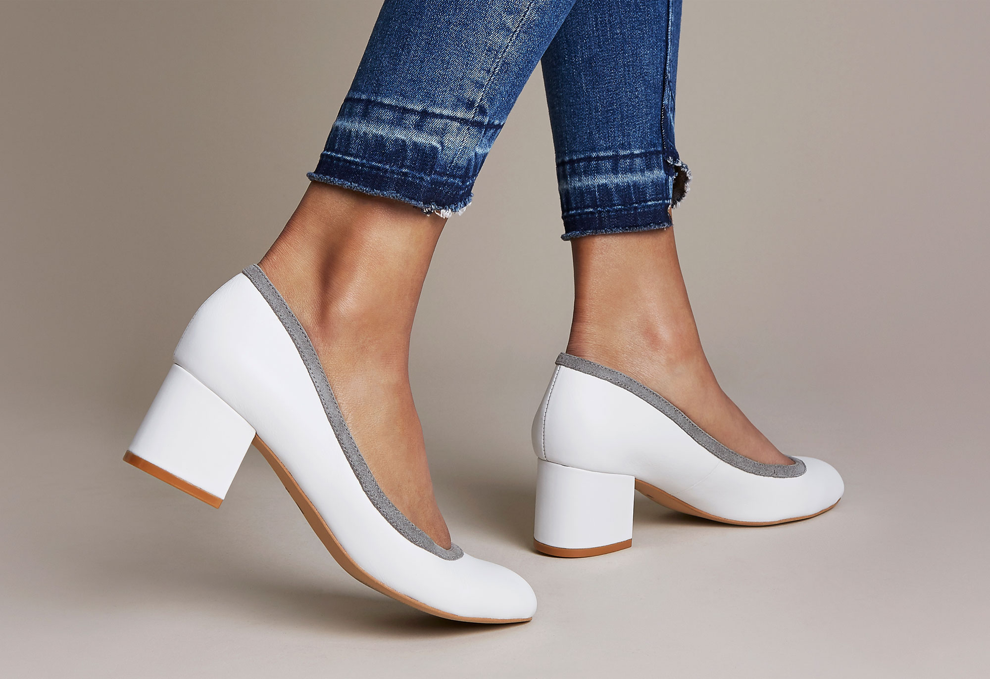 Fashion heels for plus sized feet