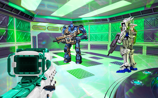 Robots de guerre de l'espace  captures d'écran 1