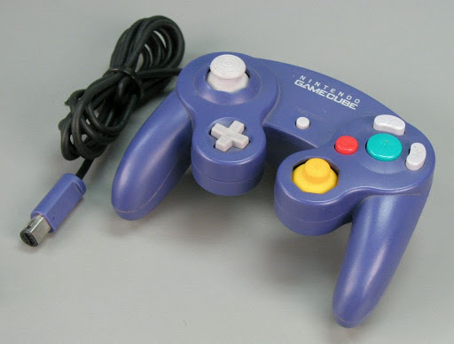 Video game controller:Nintendo GameCube Controller