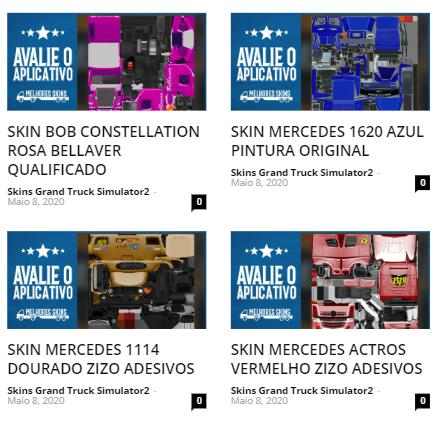 Grand Truck Simulator 2 - Skins Exclusivas
