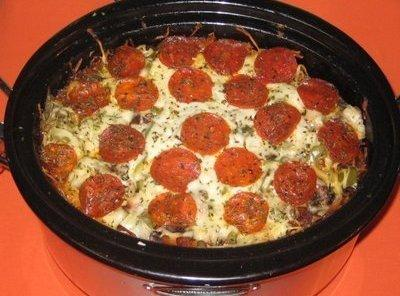 Crock Pot Pizza Casserole Recipe