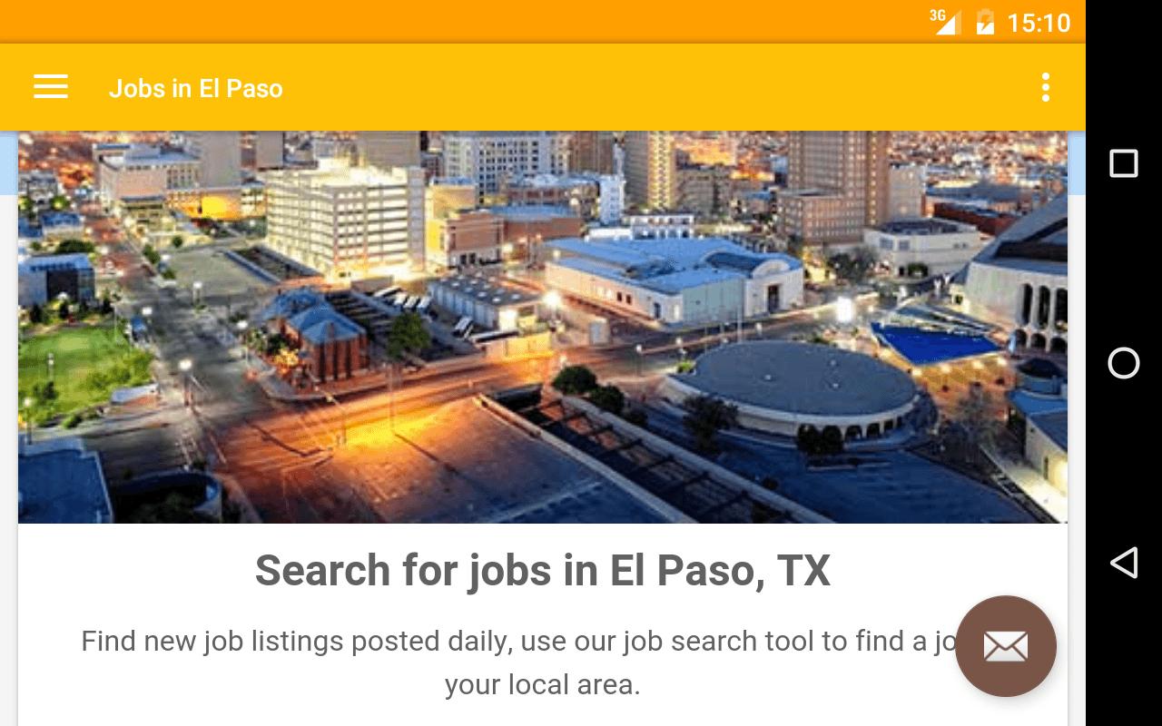 Jobs hiring now - Teach english online in El Paso, TX at tutree Jobs hiring now - Teach english online in El Paso, TX at tutree Posted in Education about 6 hours ago.