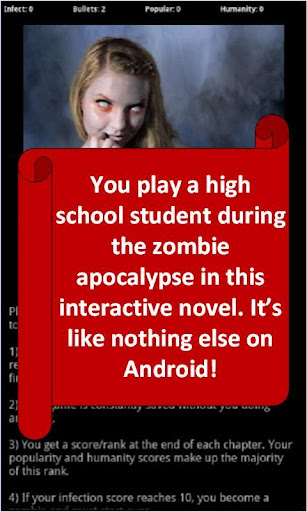 Zombie High: Choices Game RPG  screenshots 1