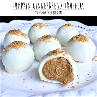 Pumpkin Gingerbread Truffles