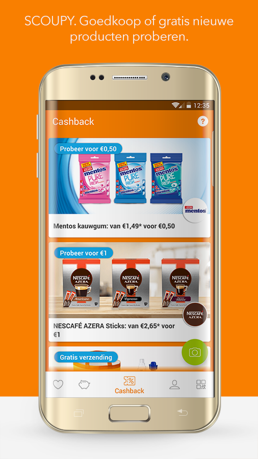 SCOUPY.  Discount and cashback!- screenshot