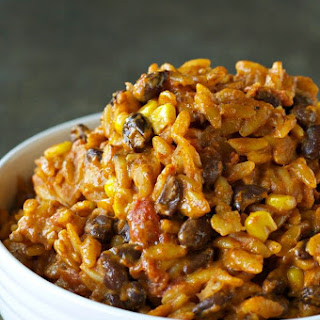 Slow Cooker Enchilada Pasta.