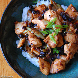 Spicy Black Bean Chicken