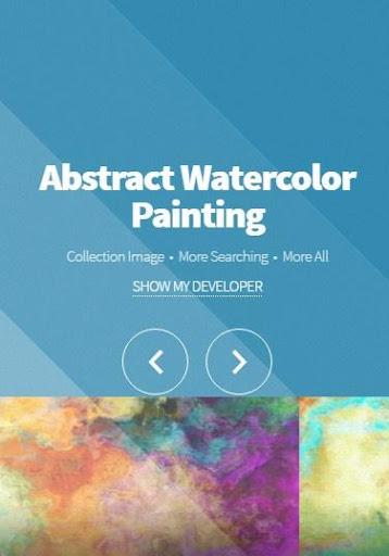 抽象的な水彩画