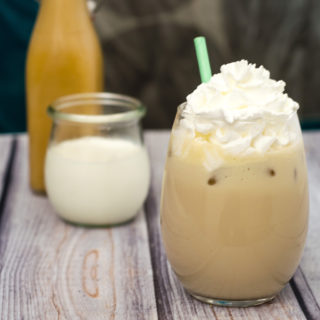 Iced Caramel Coffee #BrunchWeek