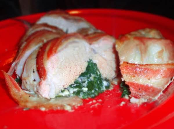 Spinach And Feta Stuffed Pork Tenderloin Recipe