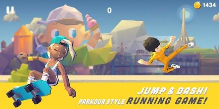 Smashing Rush : Parkour Action Run Game screenshot thumbnail