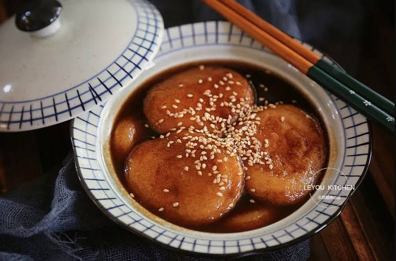 Honey Glutinous Rice Cake