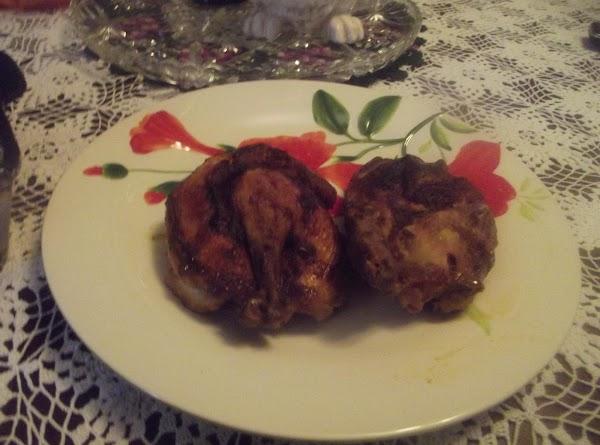 Pablo's Spanish Cornish Hen's Recipe