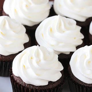 White Chocolate Mocha Cupcakes.
