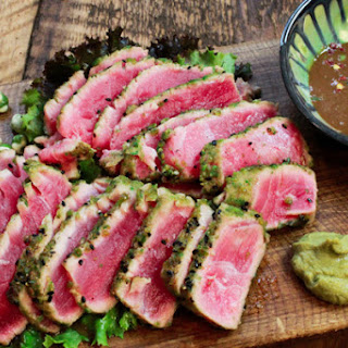 Wasabi Seared Tuna.