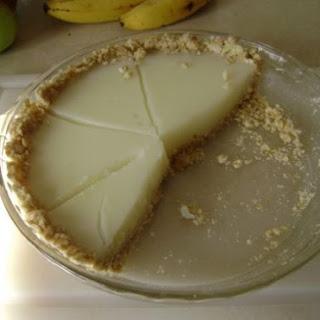 Eggless Lemon Pie Low Cholesterol Dessert