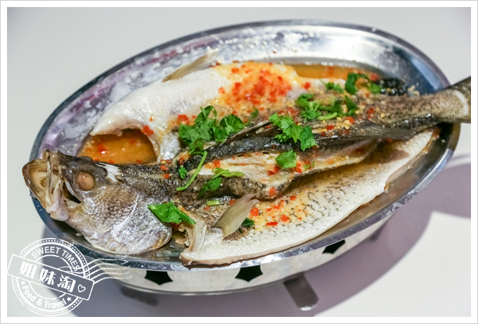 PAPAYA泰-泰式料理檸檬蒸鱸魚2
