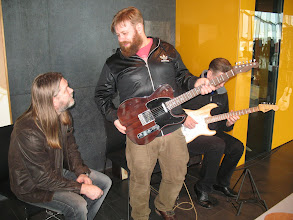 Photo: Smiður, trommari, tónskáld