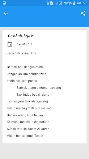 Contoh Syair Patut Ditiru Apk Download Apkpure Co
