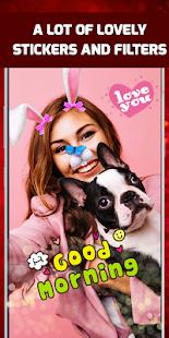 Love Camera selfie Photo Editor - náhled