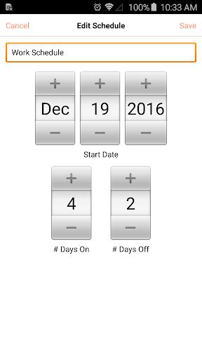 My Rotation Lietotnes par Android screenshot
