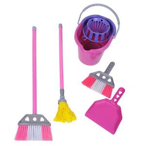 Set de joaca pentru curatenie, 5 accesorii
