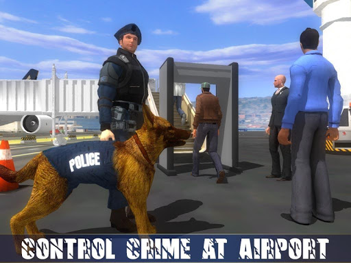 Police Dog Airport Crime Chase : Dog Games 2.9 screenshots 9