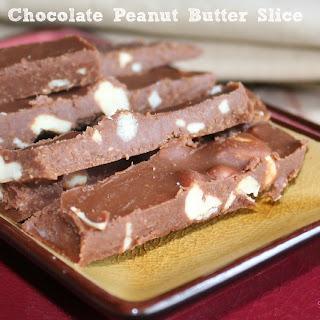 Chocolate-Peanut Butter Slice.