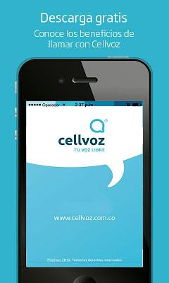 Cellvoz - screenshot