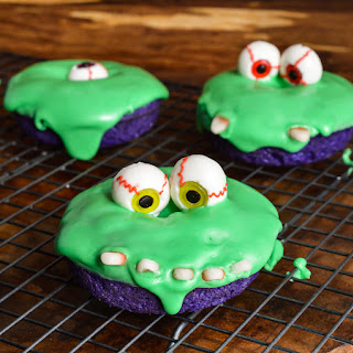 Slime Monster Halloween Donuts Recipe