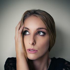Melissa by Derek Martin - People Portraits of Women ( studio, yyc, natural light, face, model, female, 403, elp, hair, portrait, eyes,  )