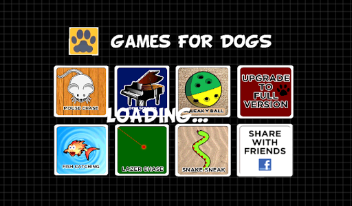 GAMES FOR DOGS