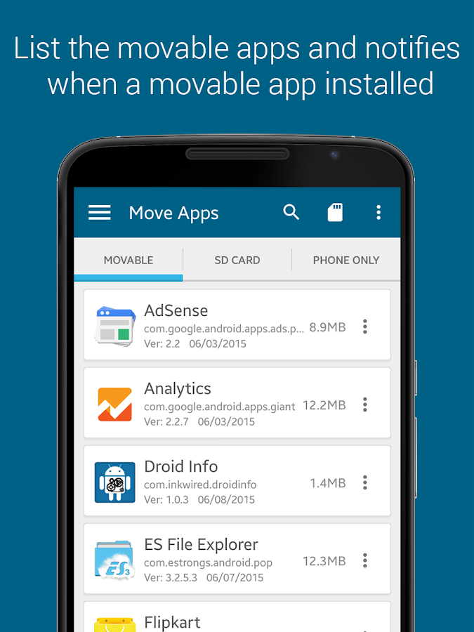 ManageApps (App Manager)- screenshot