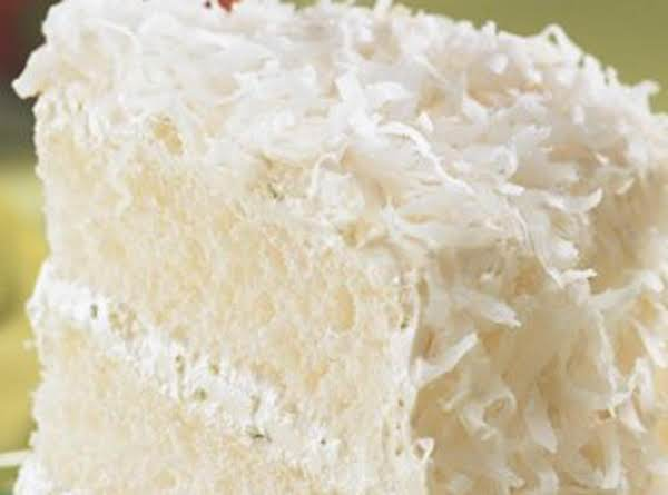 So Simple Coconut Cake... Recipe