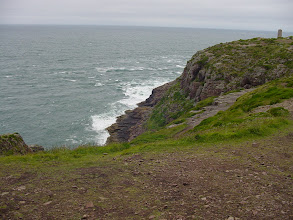 Photo: It can be over 200 feet from the cliff edges down to the sea.