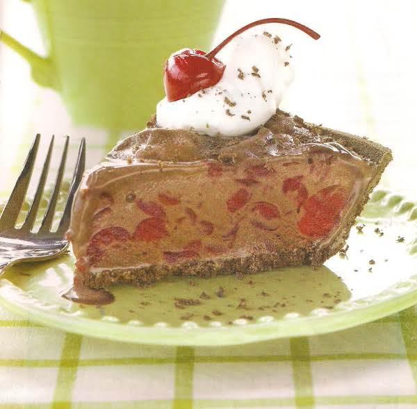 Frozen Chocolate Cherry Pie