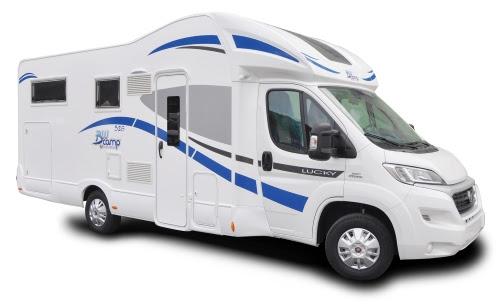 Alquiler y venta de autocaravana BluCamp Lucky 526 en Zaragoza, Huesca y Teruel
