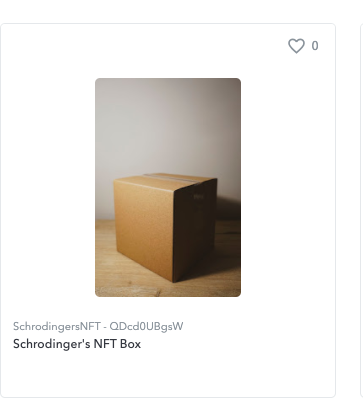 What's in the box? You'll have to transfer it to find out.