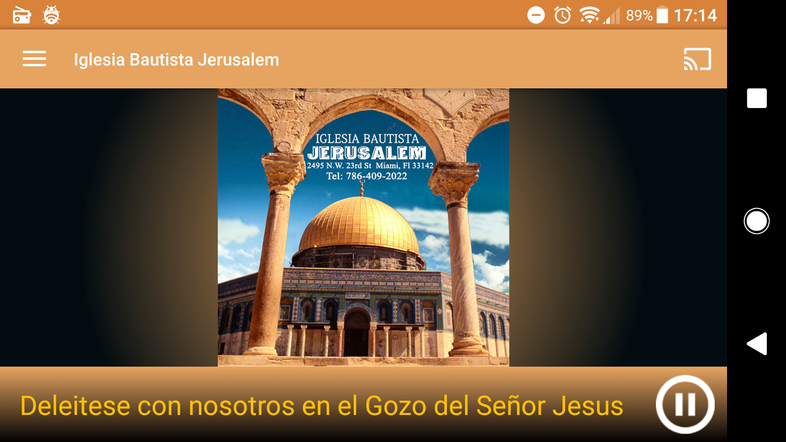 Iglesia Bautista Jerusalem- screenshot