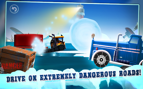 Ice Road Truck Driving Race- screenshot thumbnail